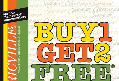 Fabricville Flyer June 21 to July 13