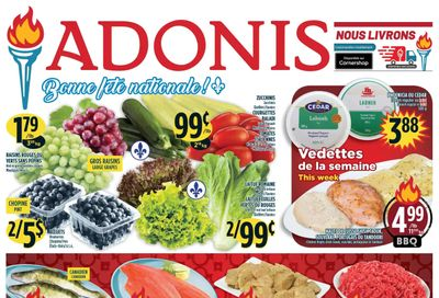 Marche Adonis (QC) Flyer June 24 to 30