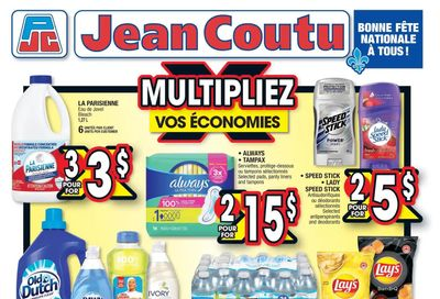 Jean Coutu (QC) Flyer June 24 to 30