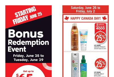 Shoppers Drug Mart (ON) Flyer June 26 to July 2