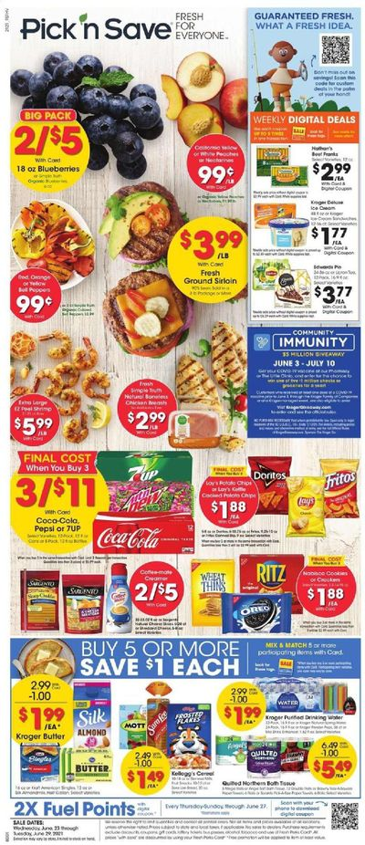 Pick 'n Save Weekly Ad Flyer June 23 to June 29