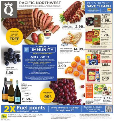 QFC Weekly Ad Flyer June 23 to June 29