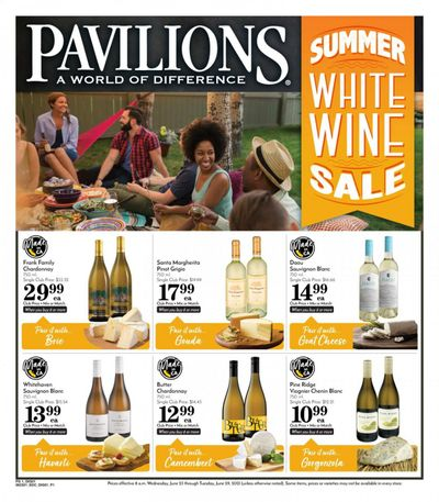 Pavilions (CA) Weekly Ad Flyer June 23 to June 29