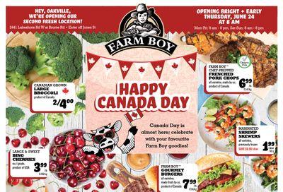 Farm Boy (Burlington and Oakville) Flyer June 24 to 30