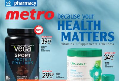 Metro (ON) Your Health Matters Flyer June 24 to July 21