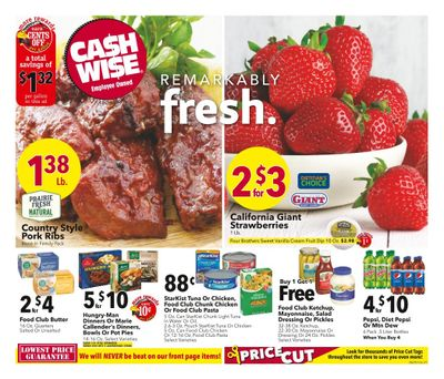 Cash Wise (MN, ND) Weekly Ad Flyer June 23 to June 29