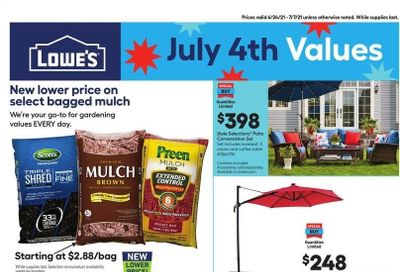 Lowe's Weekly Ad Flyer June 24 to July 7