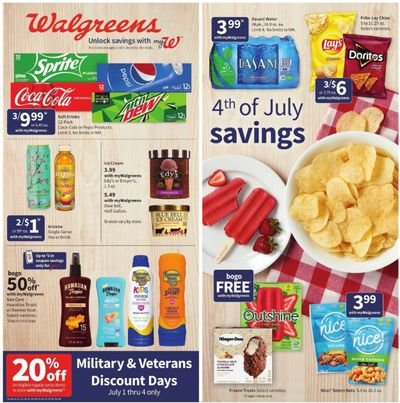 Walgreens Weekly Ad Flyer June 27 to July 3