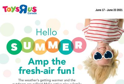 Toys R Us Flyer June 17 to 23