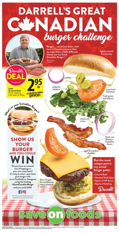 Save on Foods (BC) Flyer June 24 to 30