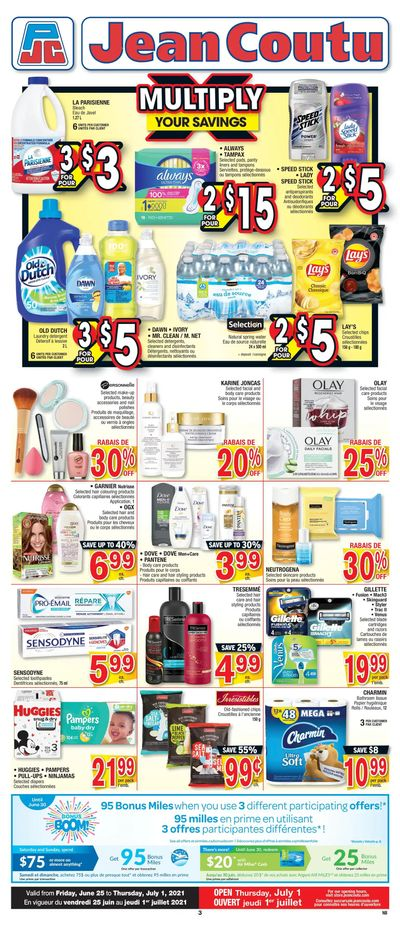 Jean Coutu (NB) Flyer June 25 to July 1