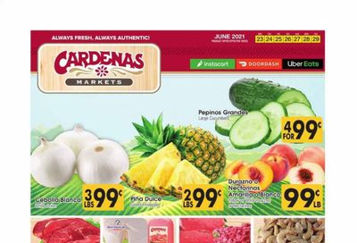 Cardenas (CA, NV) Weekly Ad Flyer June 23 to June 29