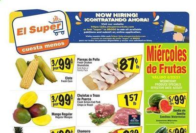 El Super (CA, NM, NV, TX) Weekly Ad Flyer June 23 to June 29