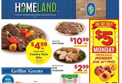 Homeland (OK, TX) Weekly Ad Flyer June 23 to June 29