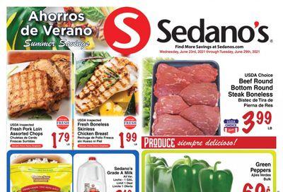 Sedano's (FL) Weekly Ad Flyer June 23 to June 29