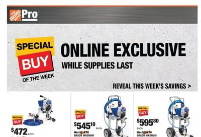 The Home Depot Weekly Ad Flyer June 21 to June 28