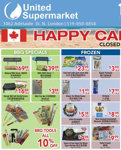 United Supermarket Flyer June 24 to 30