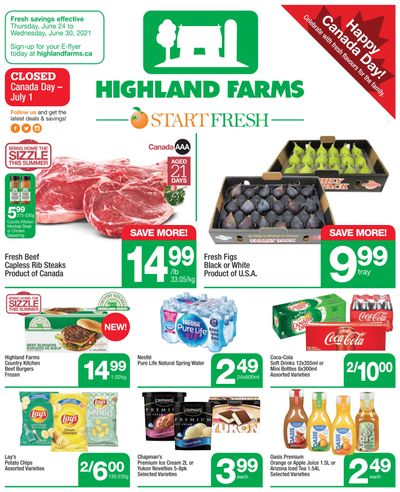 Highland Farms Flyer June 24 to 30
