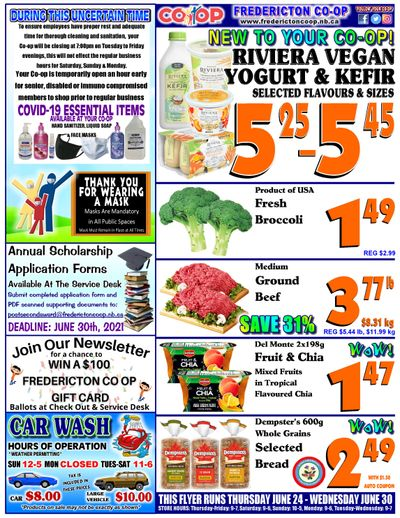 Fredericton Co-op Flyer June 24 to 30