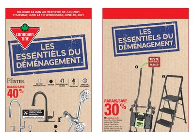 Canadian Tire (QC) Flyer June 24 to 30