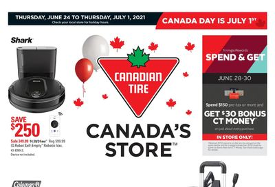 Canadian Tire (West) Flyer June 24 to July 1