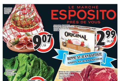 Esposito Flyer June 24 to 30
