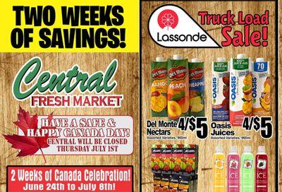 Central Fresh Market Flyer June 24 to July 8