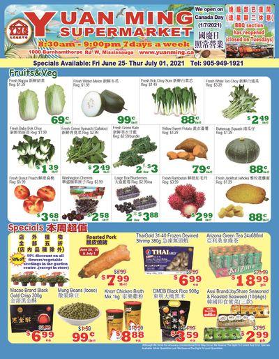 Yuan Ming Supermarket Flyer June 25 to July 1