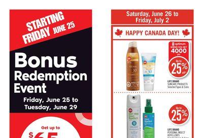 Shoppers Drug Mart (West) Flyer June 26 to July 2