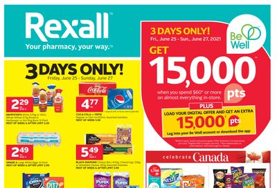 Rexall (West) Flyer June 25 to July 1