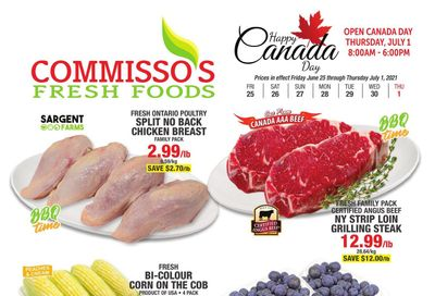 Commisso's Fresh Foods Flyer June 25 to July 1