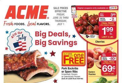 ACME (DE, NJ, NY, PA) Weekly Ad Flyer June 25 to July 1