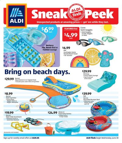 ALDI Weekly Ad Flyer June 30 to July 6