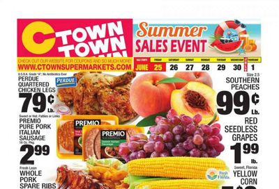 C-Town (CT, FL, MA, NJ, NY, PA) Weekly Ad Flyer June 25 to July 1