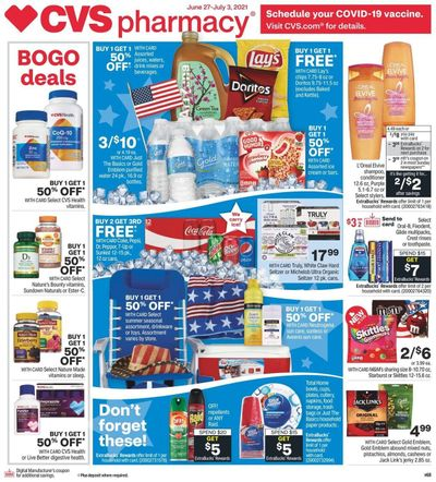 CVS Pharmacy Weekly Ad Flyer June 27 to July 3