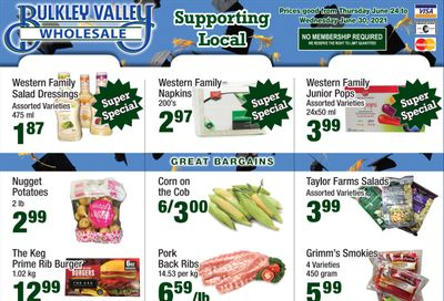 Bulkley Valley Wholesale Flyer June 24 to 30