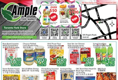 Ample Food Market (North York) Flyer June 25 to July 1