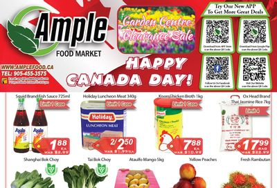 Ample Food Market (Brampton) Flyer June 25 to July 1