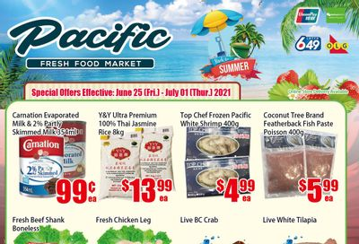 Pacific Fresh Food Market (North York) Flyer June 25 to July 1