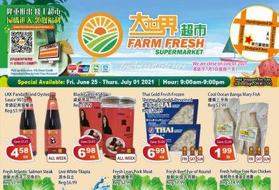Farm Fresh Supermarket Flyer June 25 to July 1