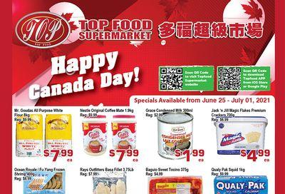 Top Food Supermarket Flyer June 25 to July 1