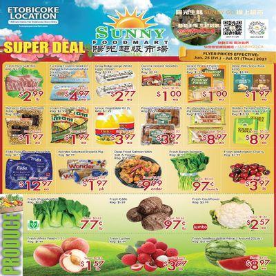 Sunny Foodmart (Etobicoke) Flyer June 25 to July 1