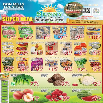 Sunny Foodmart (Don Mills) Flyer June 25 to July 1