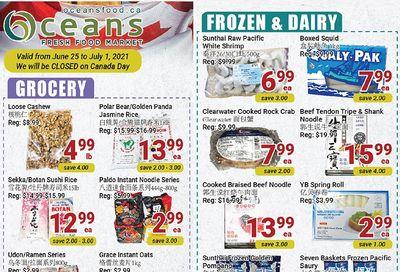 Oceans Fresh Food Market (Mississauga) Flyer June 25 to July 1
