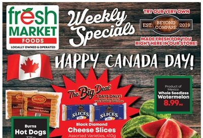 Fresh Market Foods Flyer June 25 to July 1