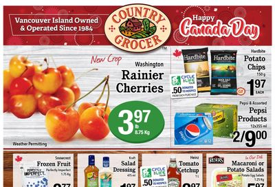 Country Grocer Flyer June 25 to July 1