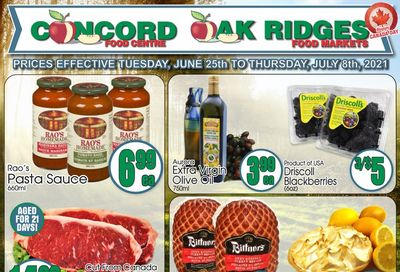 Concord Food Centre & Oak Ridges Food Market Flyer June 25 to July 8