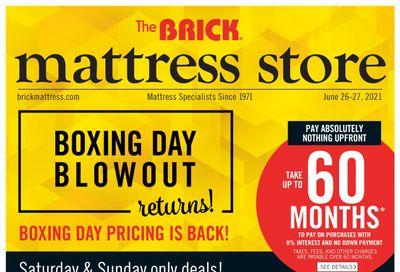 The Brick Mattress Store Flyer June 25 to 30
