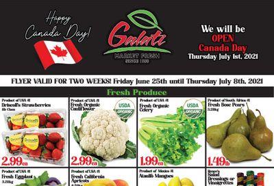 Galati Market Fresh Flyer June 25 to July 8
