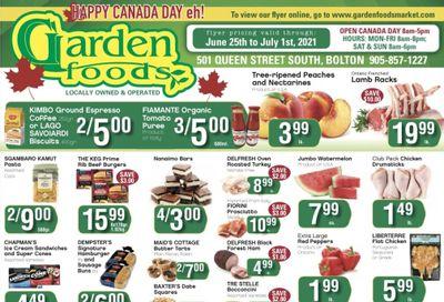 Garden Foods Flyer June 25 to July 1